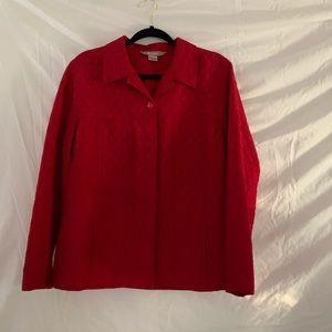TanJay Red Blazer/Jacket